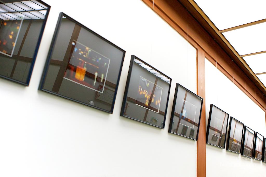 写真展 光の道標 展示替え  1