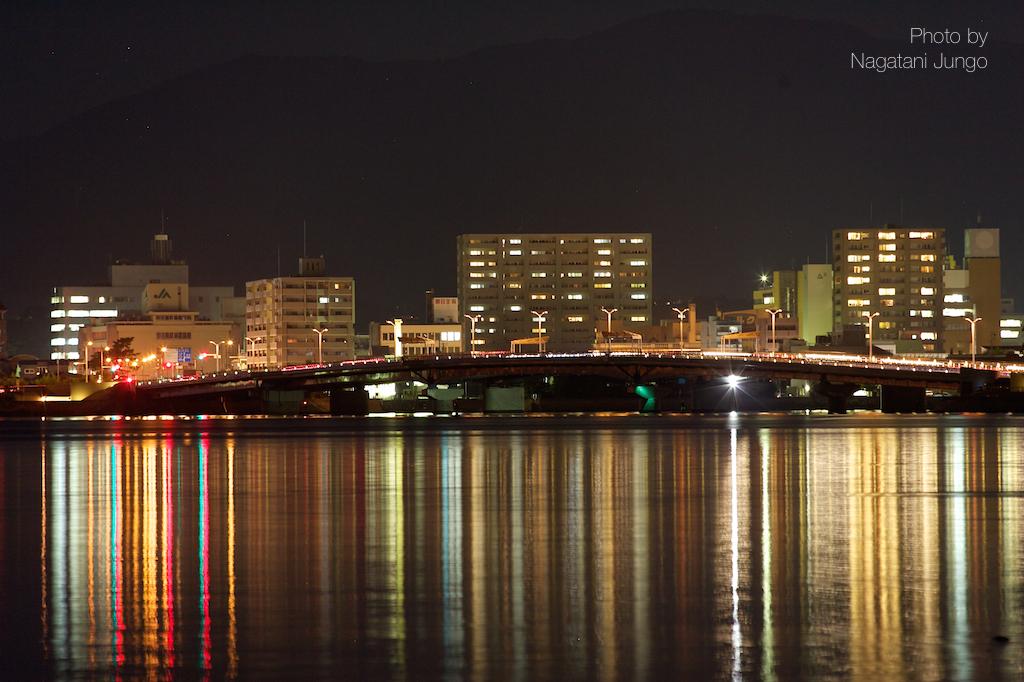 嫁ヶ島ライトアップ  1