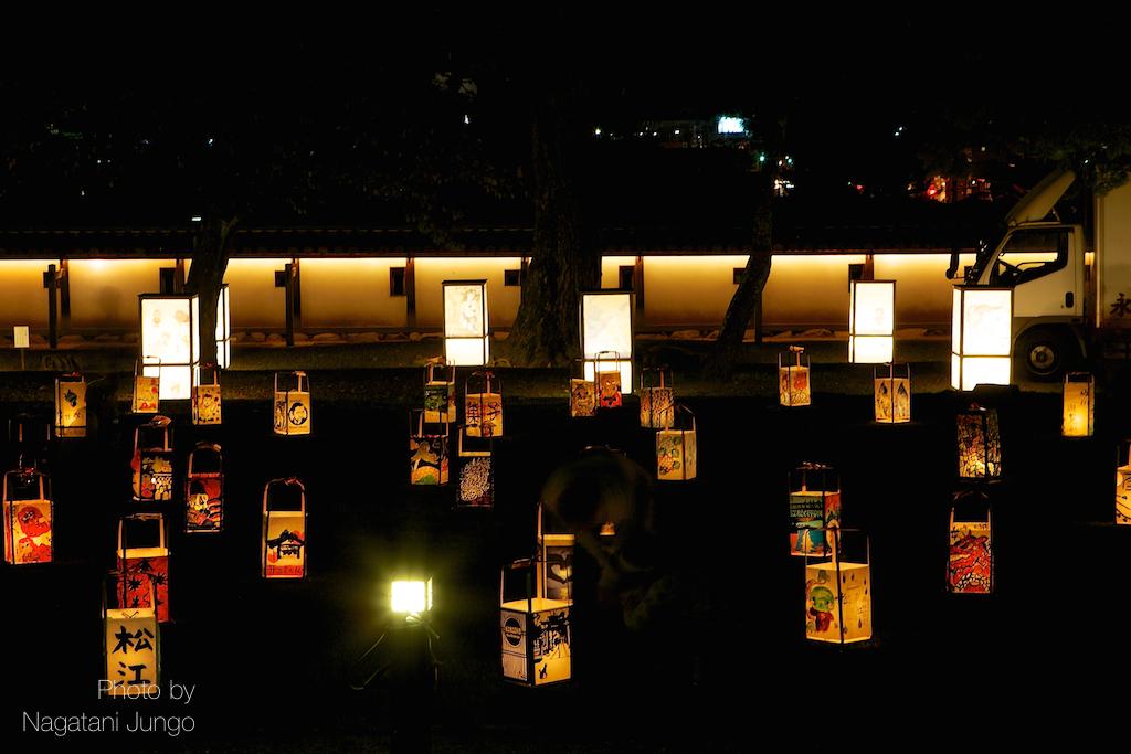 松江水燈路2014開幕