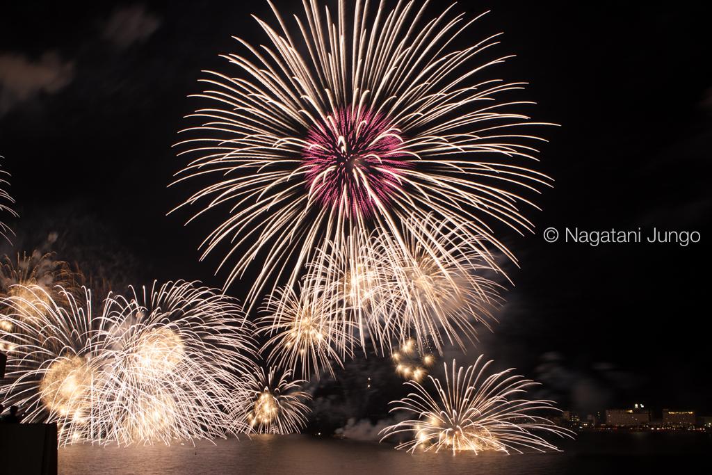 松江水郷祭花火大会 2015