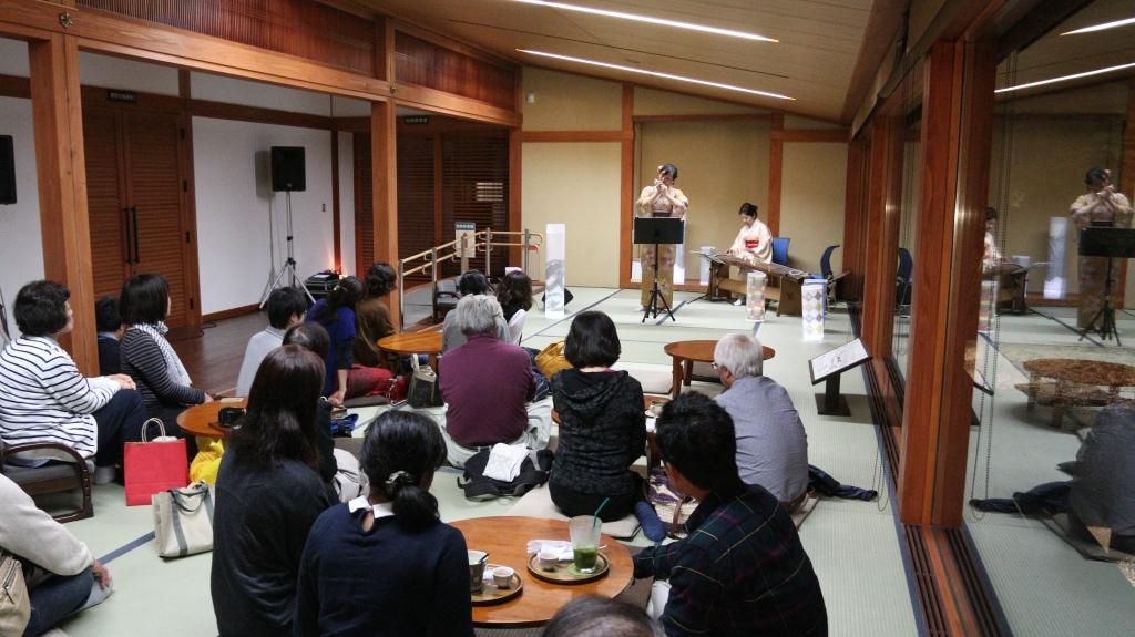 きこゆや 箏とクロマチックハーモニカ in 松江歴史館