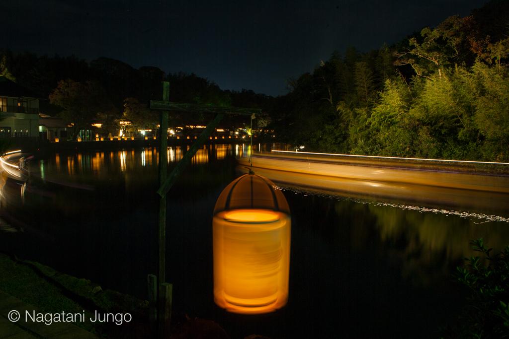 松江水燈路2015 新橋通り