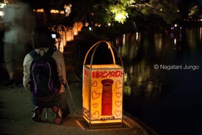 水燈路撮影会(松江水燈路2015)