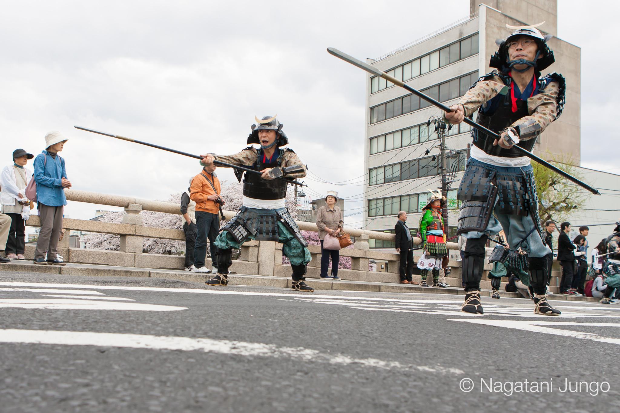 松江武者行列 2016