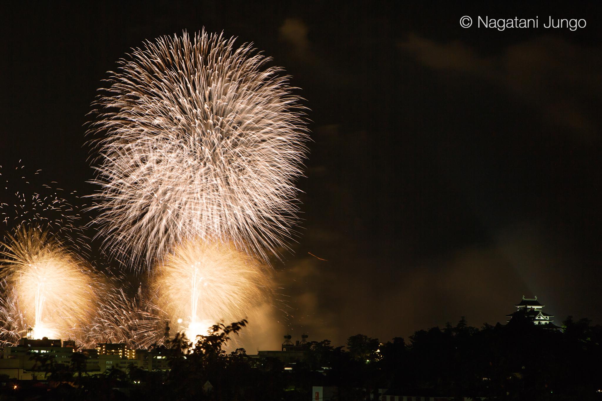 松江水郷祭 湖上花火大会 2016