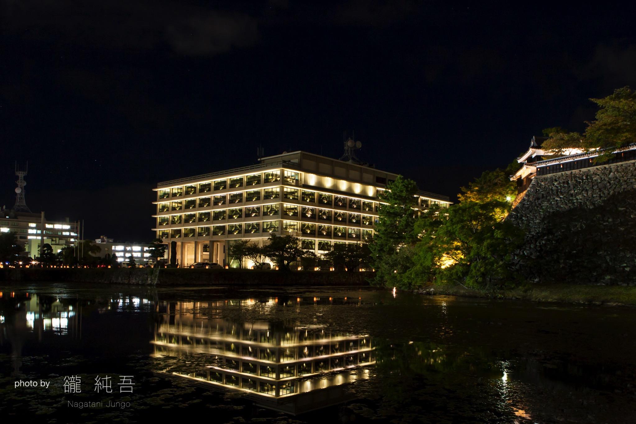 県庁庭園水燈路「結いとうろ」2017