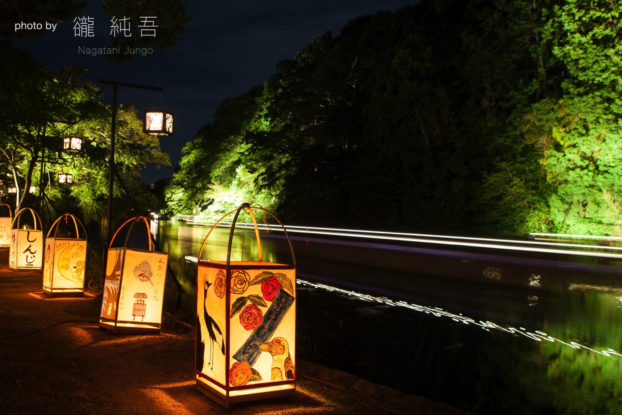 松江水燈路2017〜市民の力で作り出す松江城の光のイベント